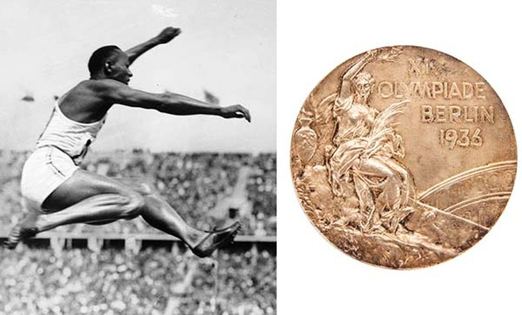 Jesse Owens' 1936 Olympic Gold Medal Could Fetch More Than $1 Million at Online Auction