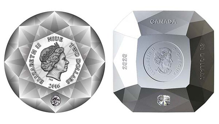 Oops! Canadian Mint's New Release Isn't the World's First Diamond-Shaped Coin